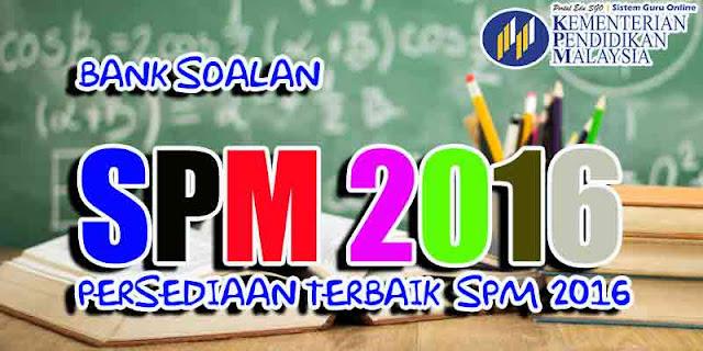 Himpunan Soalan Percubaan SPM 2016 Pelbagai Negeri Subjek Sejarah