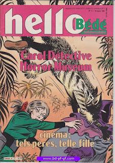 Hello-Bébé, numéro 11, 1991, Carol Détective
