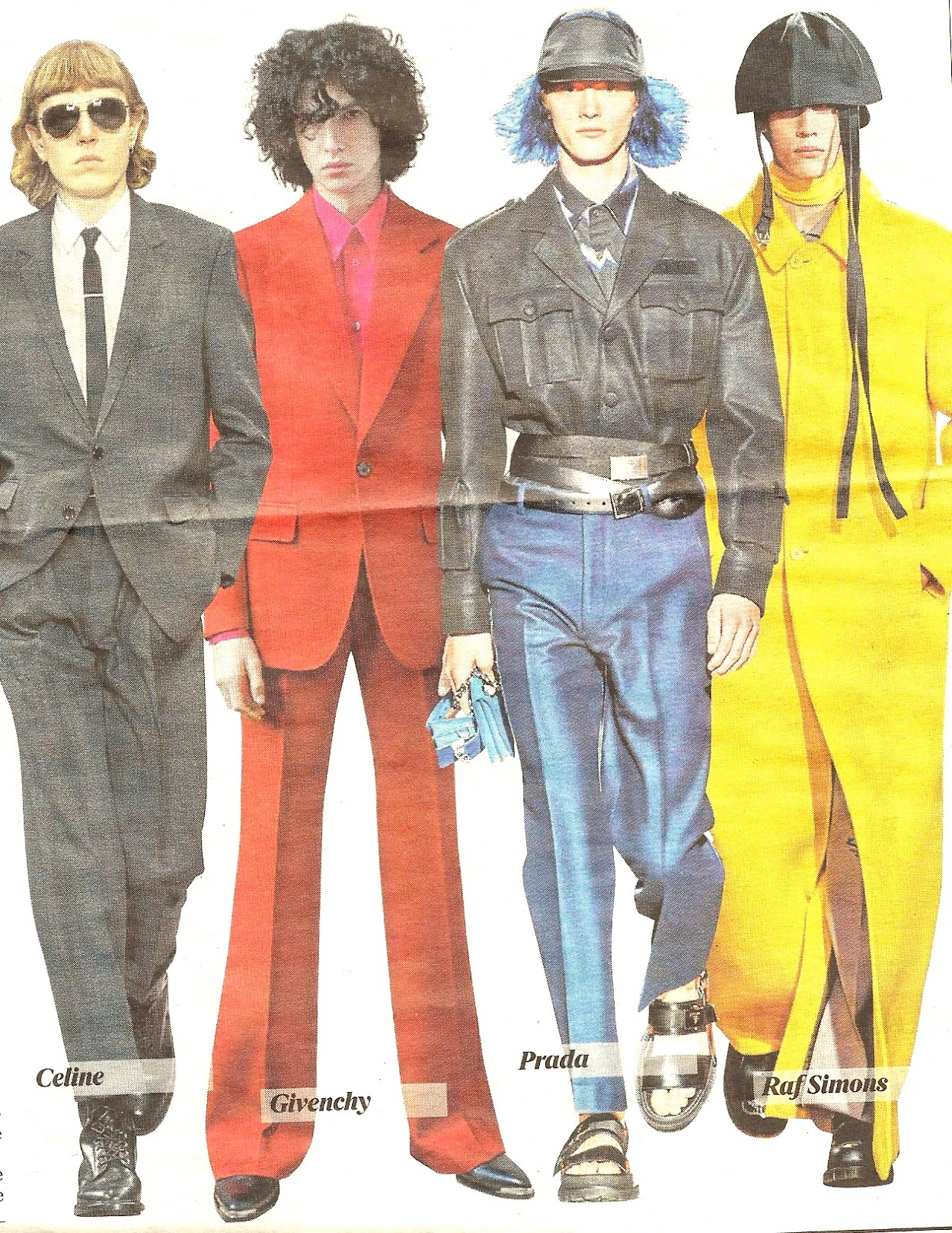 41c67e0b9d5 There was a definite 1970 1990 vibe with pants from flares to turn-ups