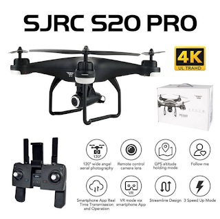 Spesifikasi Drone SJRC S20 Pro - OmahDrones