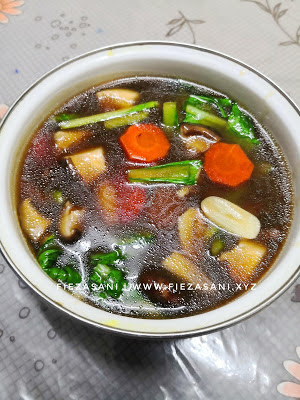 Resipi Sayur Campur Chinese Style