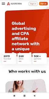 Mendapatkan Rp 300.000 dari adesterra publisher login