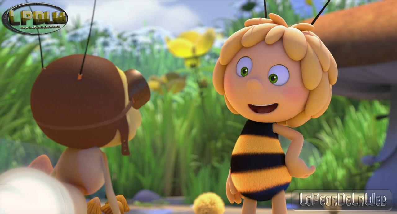 La abeja Maya (Los juegos de la miel).(2018).HDRip.720p