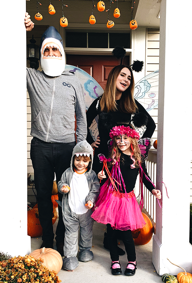 Shark Family Halloween Costume