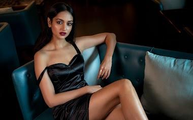 Shanvi Srivastava At Sandeep Mv Photoshoot