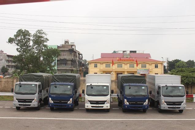 giá xe tải 1,9 tấn nissan thùng dài 4m3