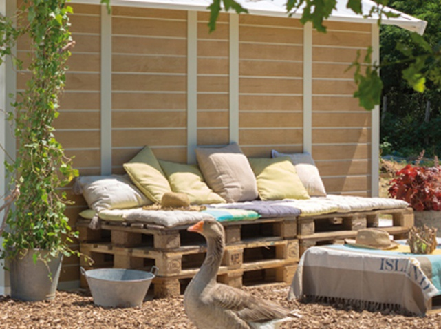 astuces jardinage 5 id es d co pour embellir votre. Black Bedroom Furniture Sets. Home Design Ideas