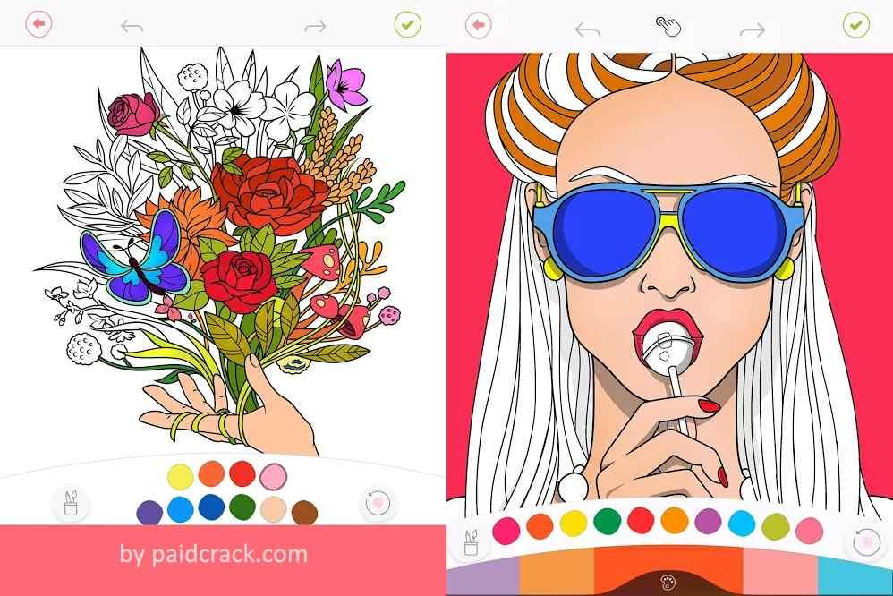Colorfy - Paint Color Book Plus Mod Apk 3.12