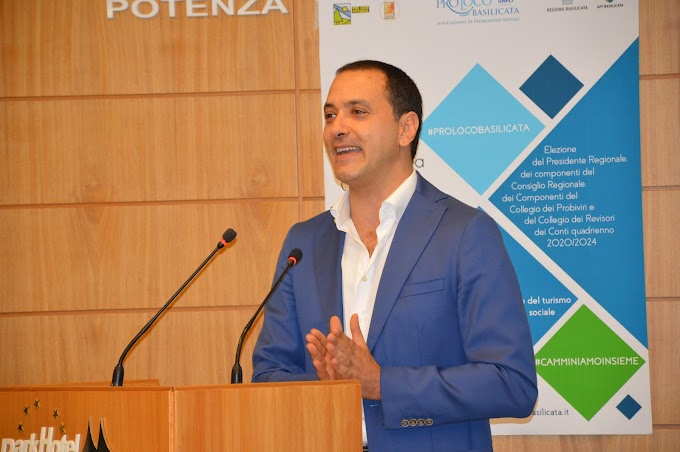 Potenza: Pro Loco lucane riconfermano per acclamazione Rocco Franciosa presidente 2020-2024