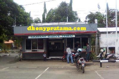 Perpanjang STNK cepat di Samsat Drive Thru
