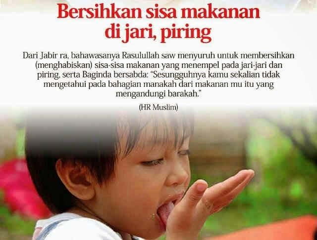 Terbukti! Kebaikan Menjilat Jari Selepas Makan Sunnah Rasulullah S.A.W Rugi Kalau Tak Ikut Buat!