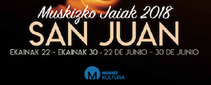 Comienzan las fiestas de San Juan, en Muskiz