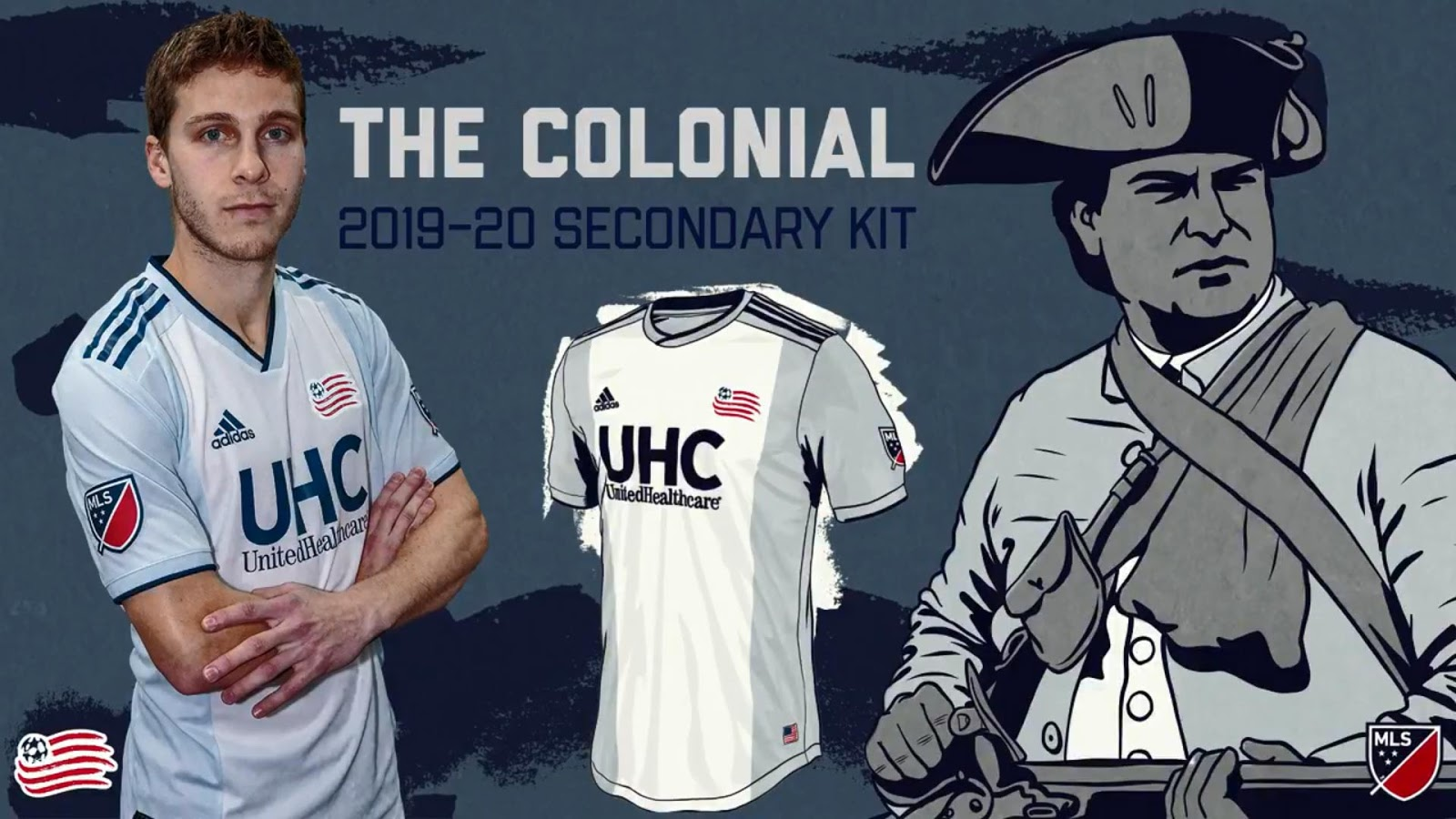 promo code 283de 1a5a8 New England Revolution 2019-20 Away Kit Released - Footy ...