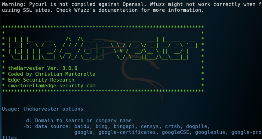 theHarvester – Advanced Information Gathering Tool for Pentesters & Ethical Hackers