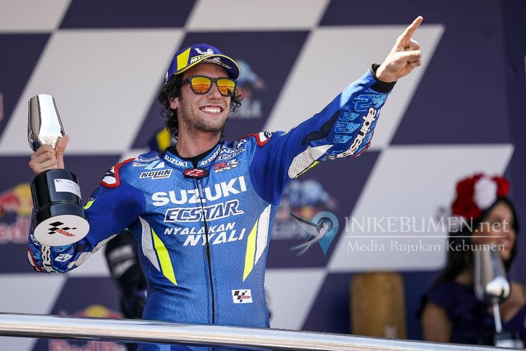MotoGP Jerez Spanyol 2019, Suzuki dan Alex Rins Raih Podium 2