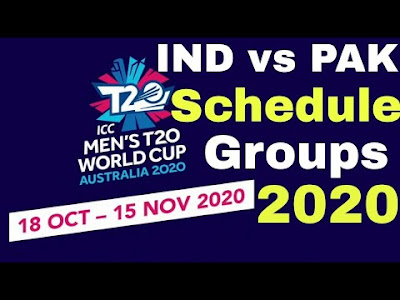 ICC T20 World Cup Schedule 2020