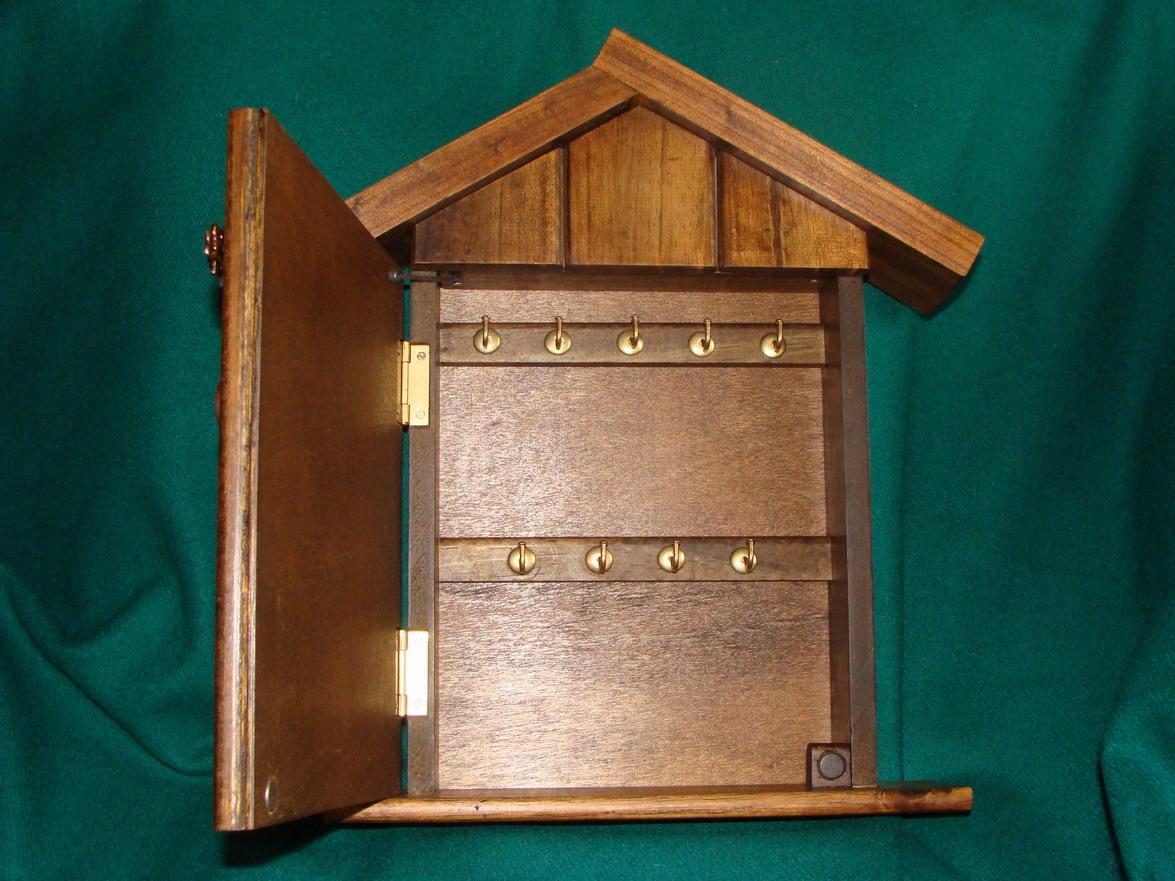 Artesanias miguel artesanias portallaves casitas de madera guardallaves - Porta llaves pared ...