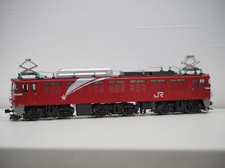 HOゲージ・鉄道模型を買い取り致しました KATO EF-81 1-321 北斗星色