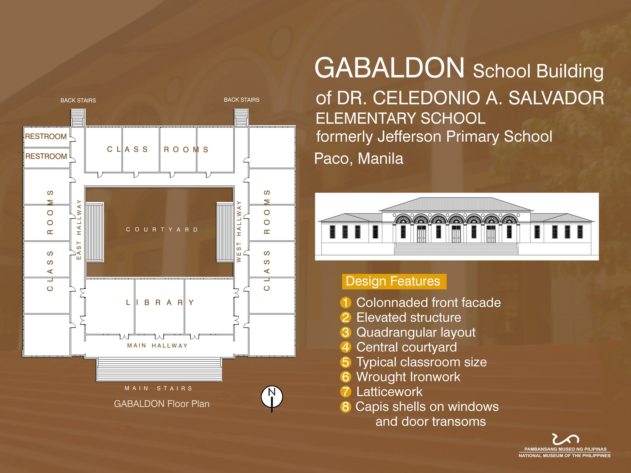 Gabaldon school building of Dr. Celedonio A. Salvador Elementary School