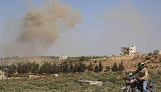 Serangan Udara Rusia Bunuh 56 Pejuang Suriah Dalam Sehari