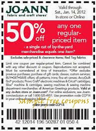 Future Joann Fabrics Coupons you must Sign Up here