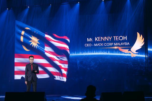 Mr Kenny Teoh, CEO of Matxi Corp Malaysia