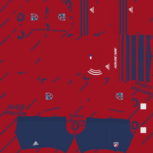 FC Dallas Home kits 2020 For Dream League Soccer 2020