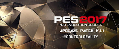 Pro Evolution Soccer 2017 Apocaze Patch v.1.1 - Released 28/09/2016