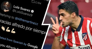 Luis Suarez likes tweet blaming Bartomeu for selling him to Atletico