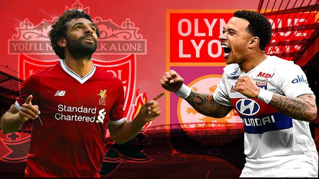مباراة ليفربول ضد أولمبيك ليون