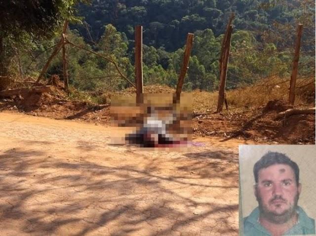 Fervedouro: homem é morto a tiros em estrada rural
