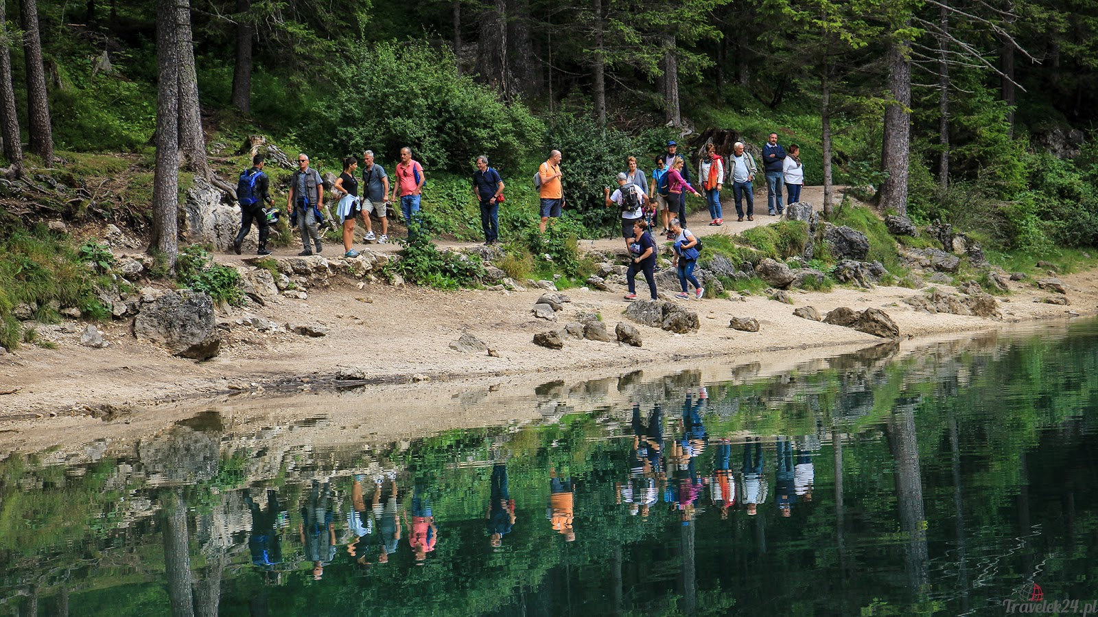 Lago di Braies atrakcje