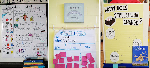 First Grade Anchor Charts