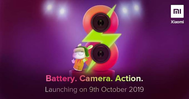 Launching Redmi 8 tahun 2019