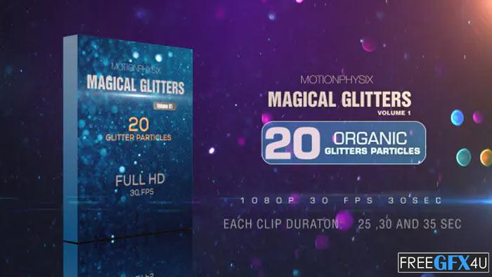 Magical Glitters Vol 1 Video Editing Software