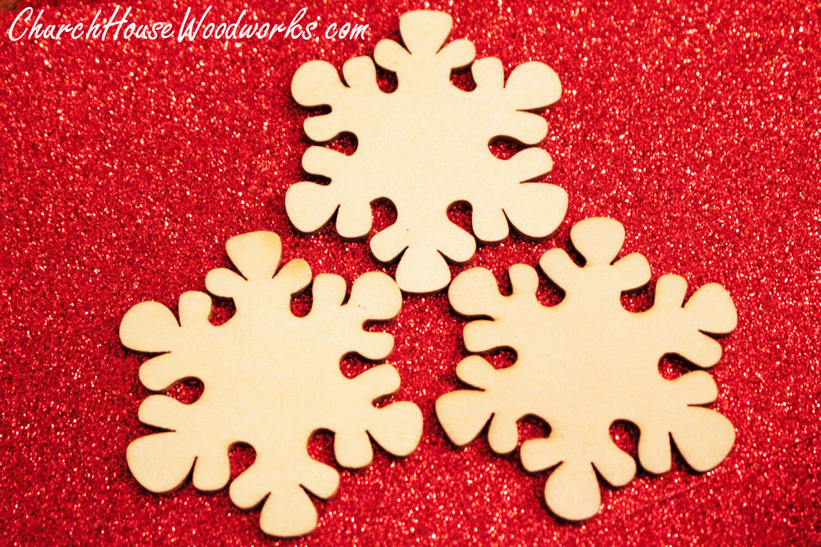 Wooden Snowflake Ornaments For Sale  Christmas Wood Ornaments For Diy  Crafts By Churchhousewoodworks