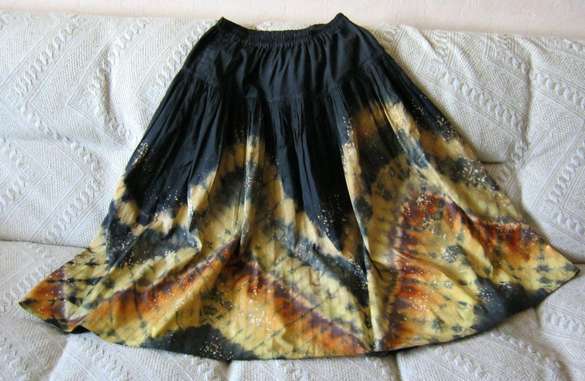 Шибори юбки мастер класс подробно #2