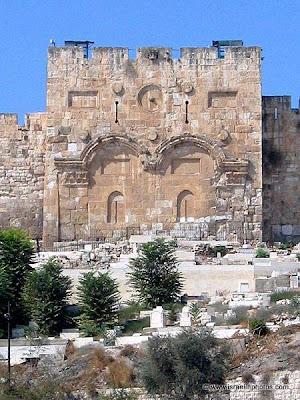 Gyllene porten, Jerusalem, باب الرحمة, 황금문 (예루살렘)