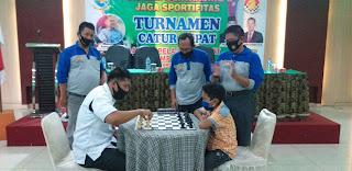 Pengprov Percasi Gelar Turnamen Catur Cepat Antar Pelajar Se-provinsi Jambi.