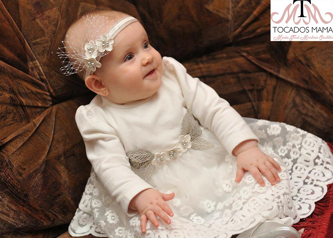 Mama no puedo parar de crear Tocados cinturones para bebs