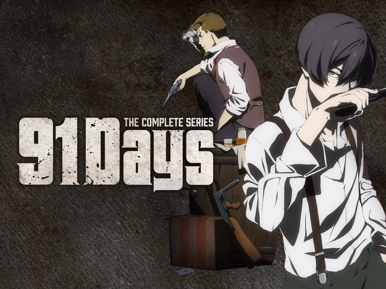 91 Days BD (Episode 01 - 12) Subtitle Indonesia + OVA