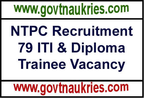 NTPC Recruitment Notification 2019