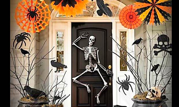 esqueleto decoracion halloween