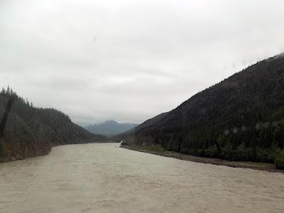 River on the Alaska Highway