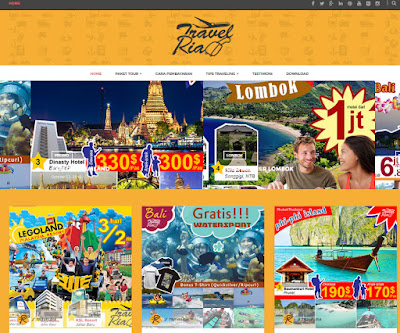 website travelria makassar