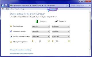 Cara Mengatur Kecerahan Layar Laptop Dan Komputer Melalui Control Panel 2