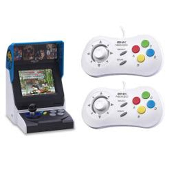 NEOGEO Mini International Video Game Console with 40 Games and 2x White Mini PAD Controller only $139.95 (was $199.00) with Free Shipping