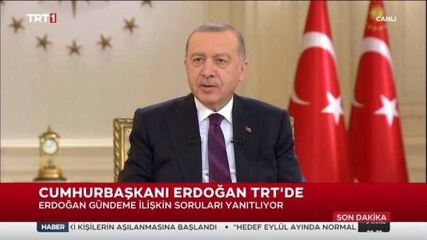 """Ερντογάν: """"Η κοινοβουλευτική δημοκρατία αποτελεί ιστορία για εμάς"""""""