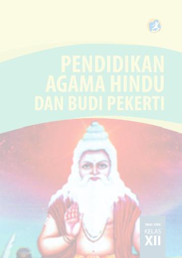 Download Buku Siswa Kurikulum 2013 SMA SMK MAN Kelas 12 Mata Pelajaran Pendidikan Agama Hindu dan Budi Pekerti