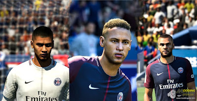 FIFA 18 Faces by KeproFifa ( PSG Facepack )
